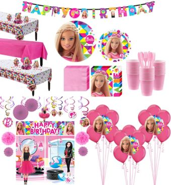 Barbie Tableware Ultimate Kit for 24 Guests