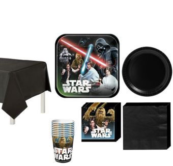 Star Wars Tableware Party Kit for 8 Guests