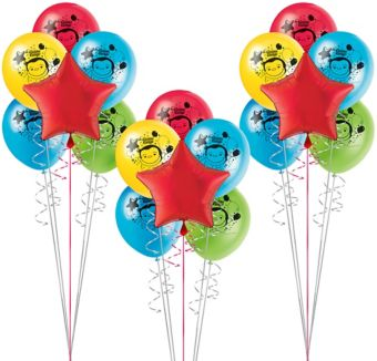 Curious George Balloon Kit