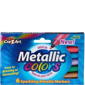 Cra-Z-Art Metallic Markers 6ct