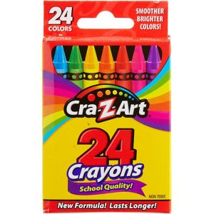 Cra-Z-Art Crayons 24ct