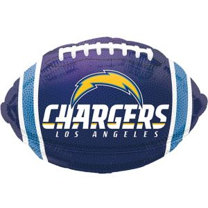 Los Angeles Chargers Balloon - Football