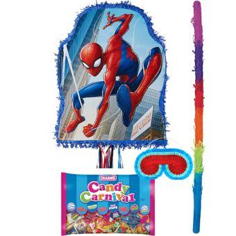 Blue Spider-Man Pinata Kit