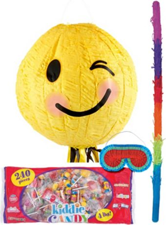 Winking Smiley Pinata Kit