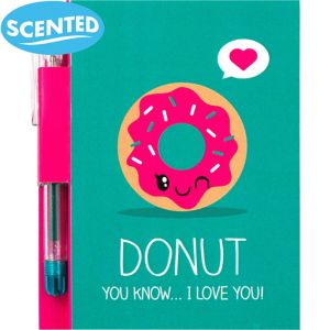 Sketch & Sniff Donut Notepad with Pen