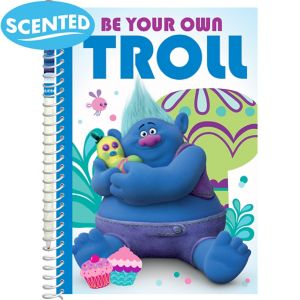 Scented Biggie Notepad & Pencil - Trolls