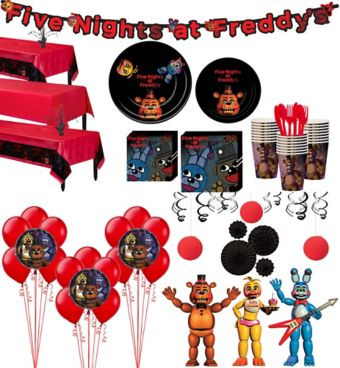 Five Nights at Freddy's Tableware Ultimate Kit for 24 Guests