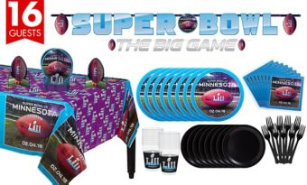 Super Bowl Basic Party Kit for 16 Guests