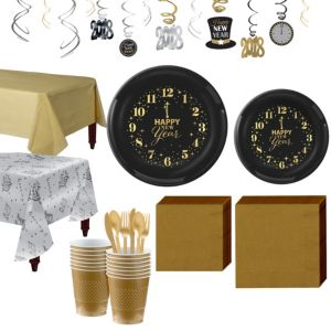 New Year's Tableware Kit for 16 Guests