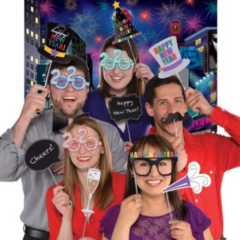 Times Square New Year's Photo Booth Kit