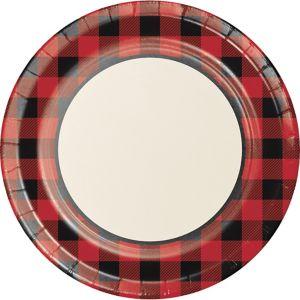 Buffalo Plaid Dinner Plates 8ct