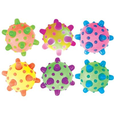 Light Up Meteor Bounce Ball 2 1 4in Party City