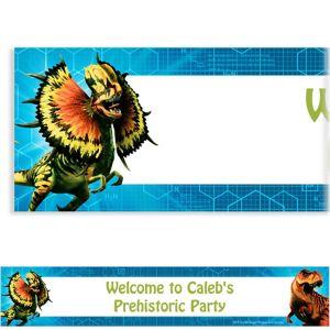 Custom Jurassic World Banner