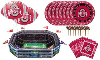 Sunny Anderson's Infladium: Ohio State Buckeyes Snack Stadium Kit
