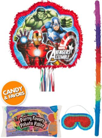 Avengers Assemble Pinata Kit with Candy & Favors