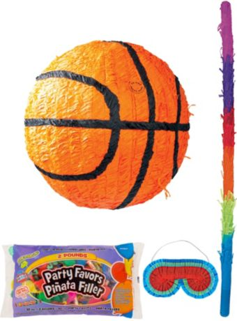 Basketball Pinata Kit with Candy & Favors
