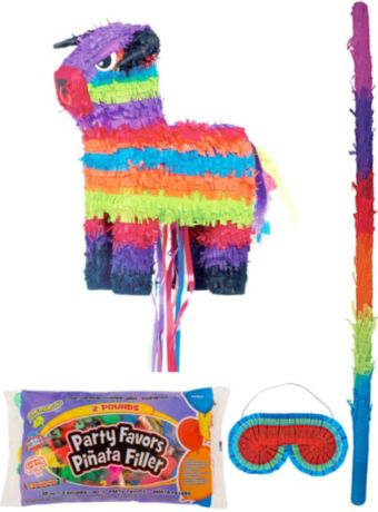 Bull Pinata Kit with Candy & Favors