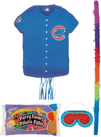 Chicago Cubs Pinata Kit with Candy & Favors