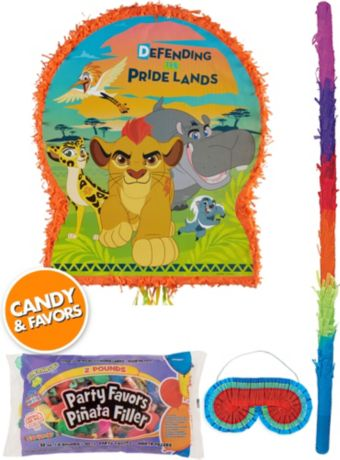 Lion Guard Pinata Kit with Candy & Favors