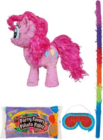 Pinkie Pie Pinata Kit with Candy & Favors - My Little Pony
