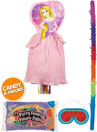 Rapunzel Pinata Kit with Candy & Favors Deluxe - Tangled