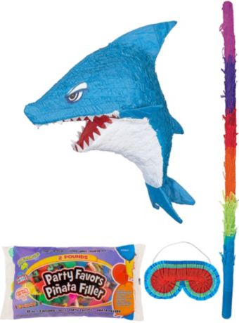 Shark Pinata Kit with Candy & Favors