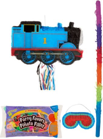 Thomas the Tank Engine Train Pinata Kit with Candy & Favors