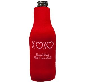 Personalized Valentine's Day Bottle Huggers