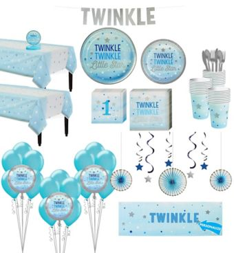 Blue Twinkle Twinkle Deluxe 32CT Tableware Kit