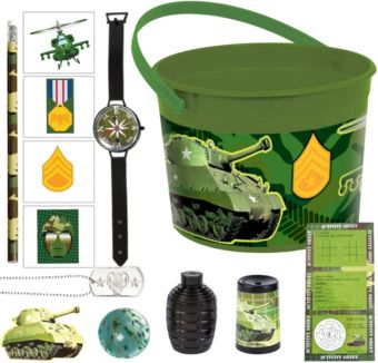 Camouflage Ultimate Favor Kit for 8 Guests