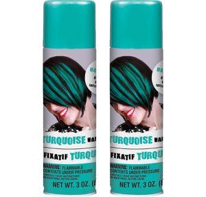 Turquoise Hair Spray 2ct