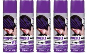 Purple Hair Spray 5ct