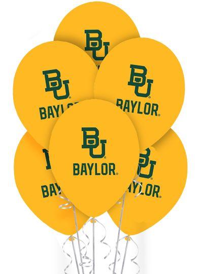 Baylor Bears Balloons 10ct