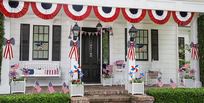 Patriotic Decorations Indoor Amp Outdoor Patriotic Decor