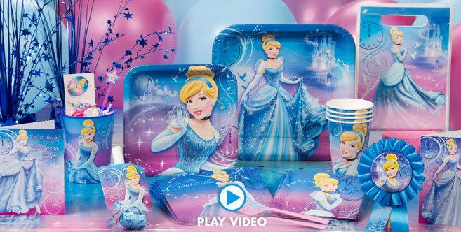 Cinderella Birthday Party Supplies
