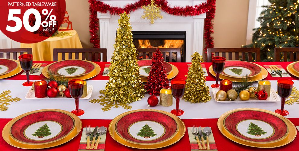 classic christmas tree christmas party supplies party city - Classic Christmas Trees