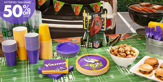 Viking Party Games Nfl Minnesota Vikings Party