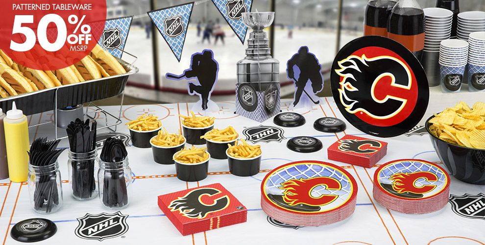 NHL Calgary Flames Party Supplies