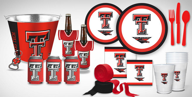 Texas Tech Red Raiders Party Supplies Party City