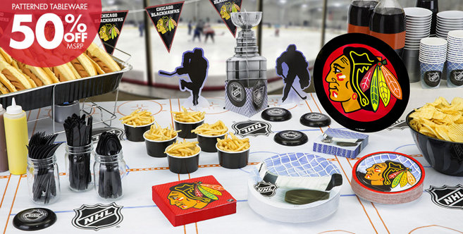 Nhl Chicago Blackhawks Party Supplies Party City