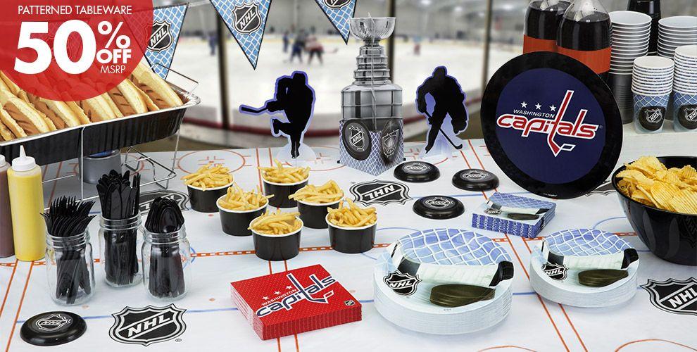 NHL Washington Capitals Party Supplies