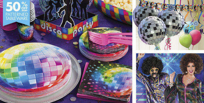 Disco Party Supplies - Disco Fever Theme - Party City