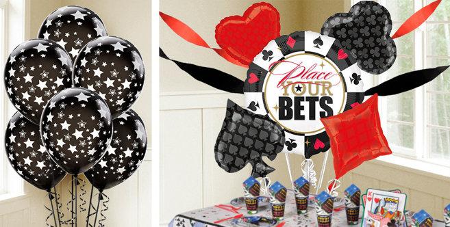 Casino Balloons Party City