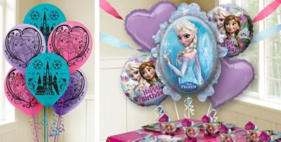 Frozen Balloons Party City