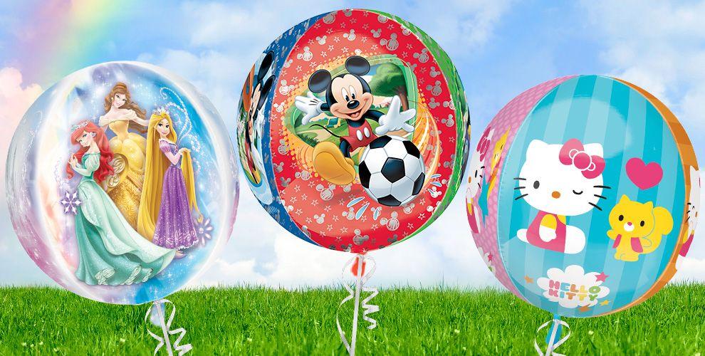 Orbz & Ultrashape Balloons