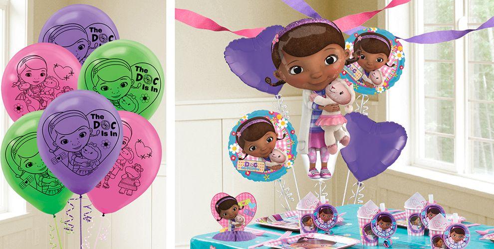 Doc McStuffin Balloons