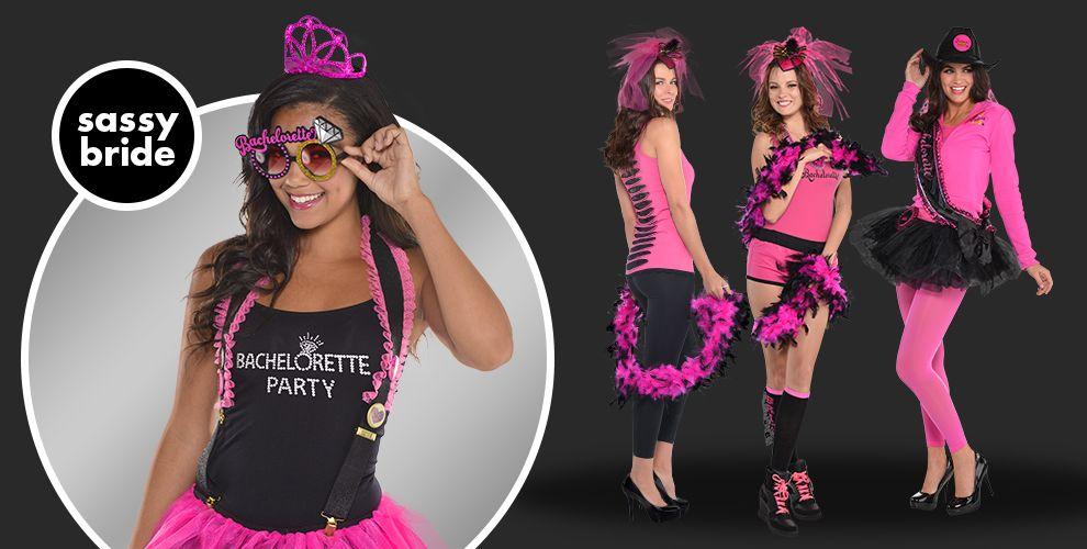 Sassy Bride Bachelorette Party Supplies - Party City