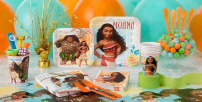 Moana Party Supplies Moana Birthday Party Ideas Party City