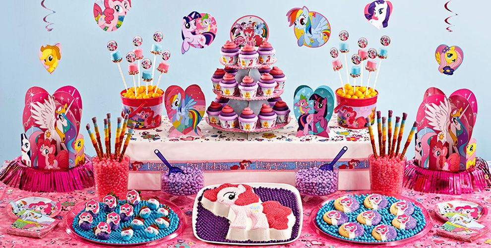 My Little Pony Cake amp Cupcake Supplies Party City