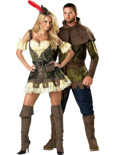 Edgy Robin Hood Couples Costumes